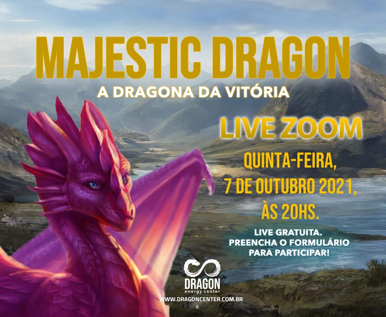 LIVE DRAGÃO DO MÊS - MAGESTIC DRAGON